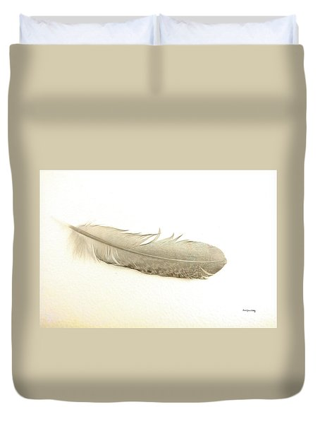 Softness Of A Feather Duvet Cover