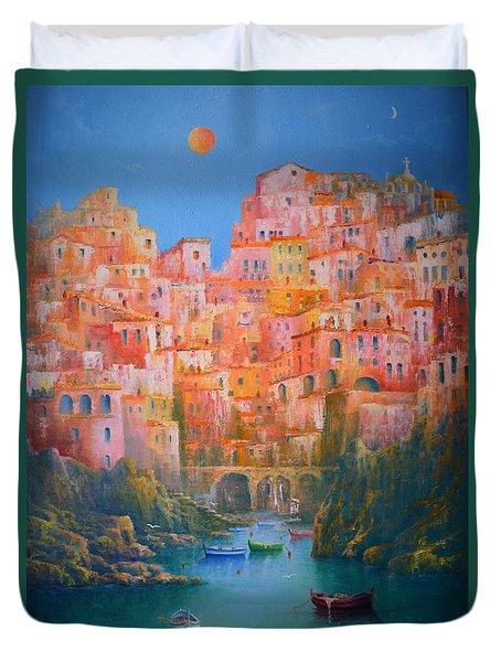 Sogni Di Italia. Duvet Cover by Joe Gilronan