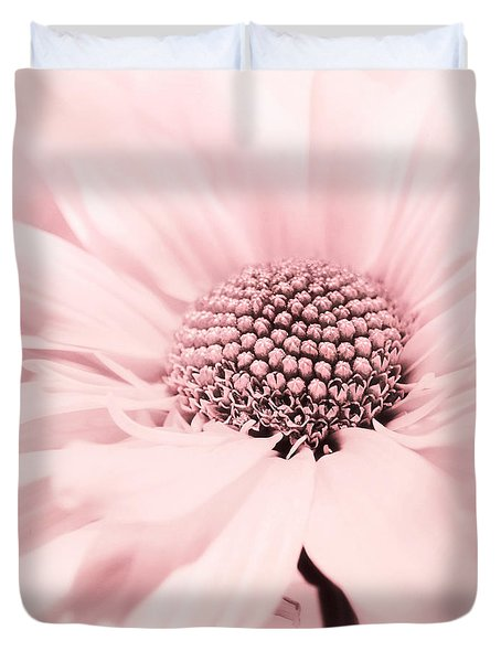 Duvet Cover featuring the photograph Soiree In Cotton Candy Pink by Darlene Kwiatkowski