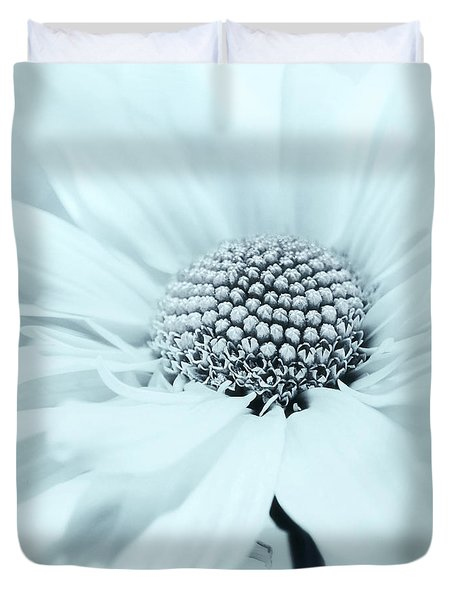 Duvet Cover featuring the photograph Soiree In Powder Blue by Darlene Kwiatkowski