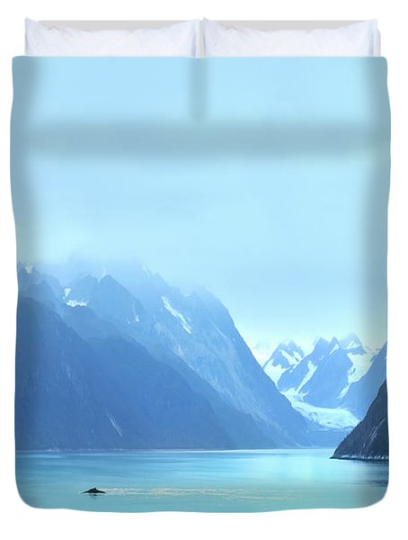 Duvet Cover featuring the photograph Sojourn by John Poon