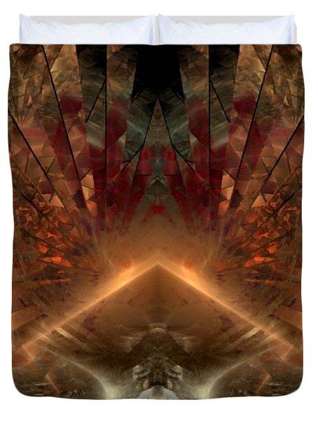 Sol Invictus Duvet Cover