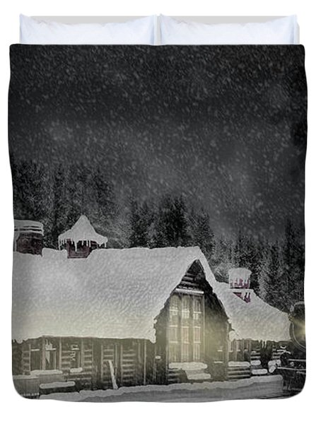 Solace From The Storm Duvet Cover