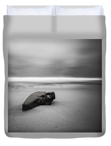 Duvet Cover featuring the photograph Solace I by Ryan Weddle