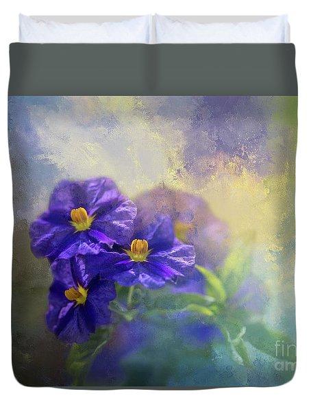 Solanum Duvet Cover
