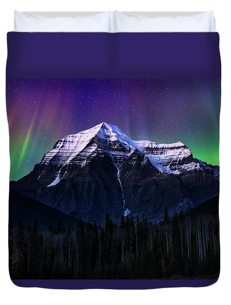 Solar Activity Duvet Cover