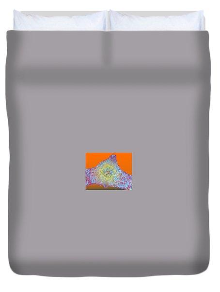Solar Cells Duvet Cover