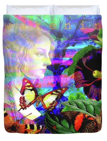 Solar Daydreamer Duvet Cover