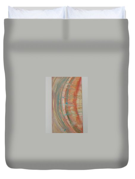 Solar Flare #2 Duvet Cover by Sharyn Winters