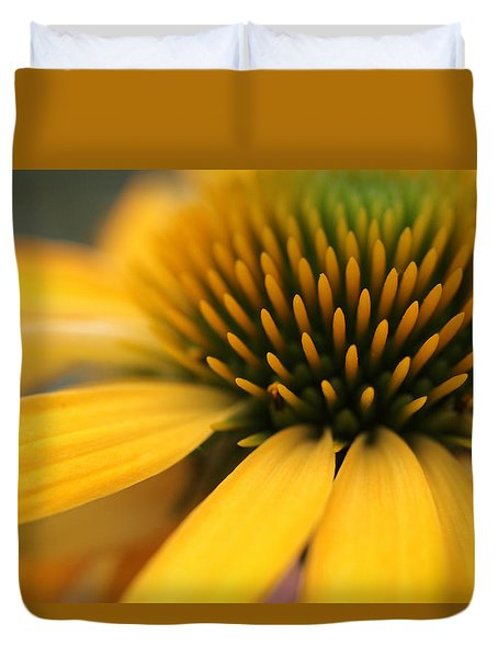Solar Flare Duvet Cover by Connie Handscomb