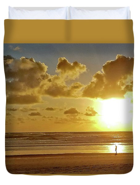 Solar Moment Duvet Cover