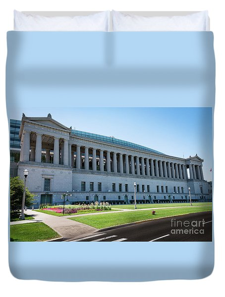Soldier Field Duvet Cover