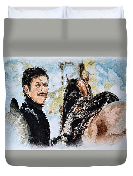 Soldier Horse Duvet Cover