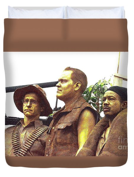 Soldier's Tribute Duvet Cover