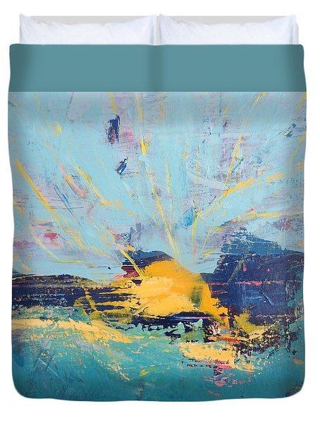 Soleil De Joie, Extrait Duvet Cover