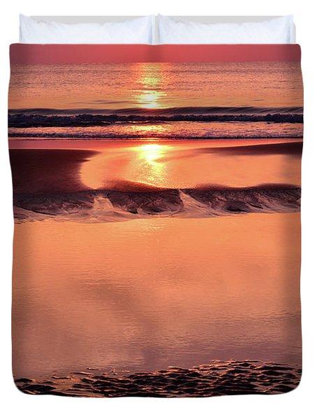 Solemn Reflection Duvet Cover