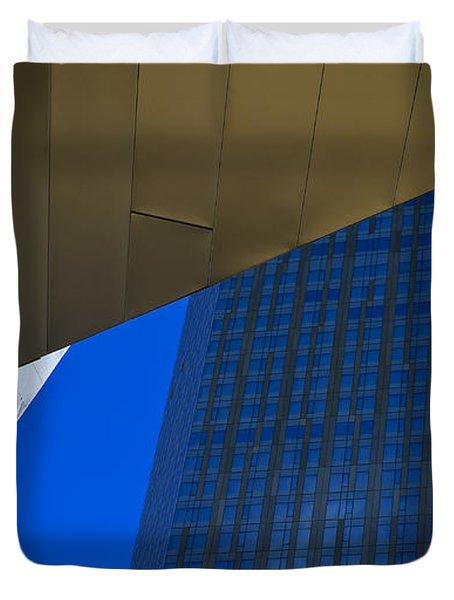 Solid Gold Duvet Cover by Skip Hunt