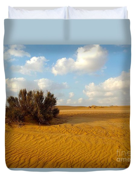 Solitary Shrub Duvet Cover