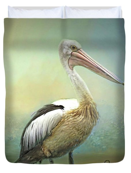 Solitary Duvet Cover by Wallaroo Images