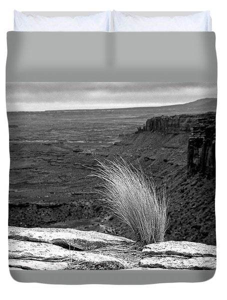 Solitude Duvet Cover by Alex Galkin