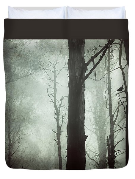 Duvet Cover featuring the photograph Solitude by Amy Weiss