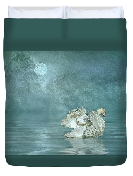 Solitude Duvet Cover by Brian Tarr