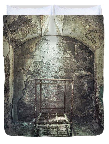 Solitude Of Confinement Duvet Cover
