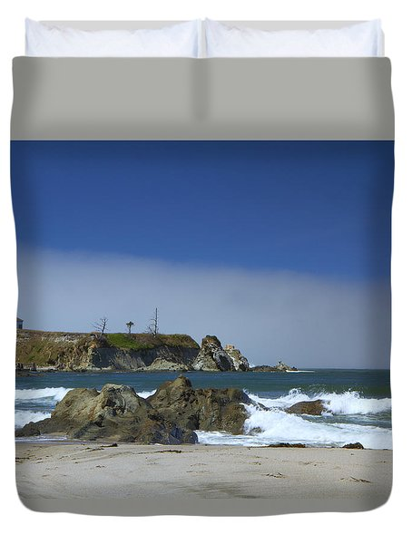 Duvet Cover featuring the photograph Solitude by Tom Kelly