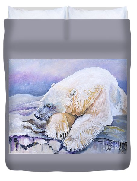 Solitudes Edge Duvet Cover