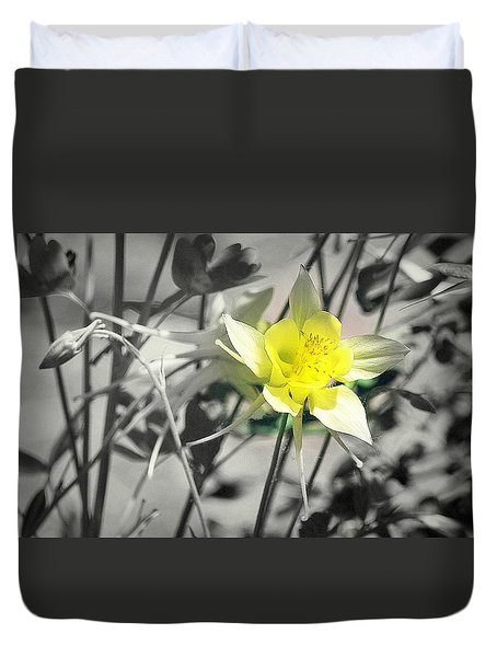 Solo  Duvet Cover by Clarice Lakota