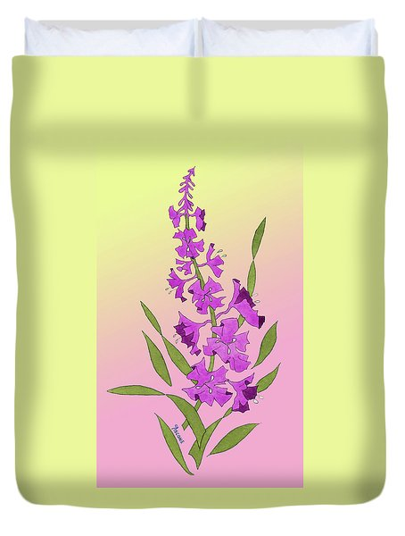 Solo Fireweed Duvet Cover