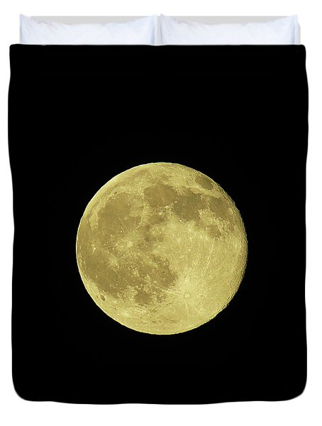 Solstice Moon Duvet Cover
