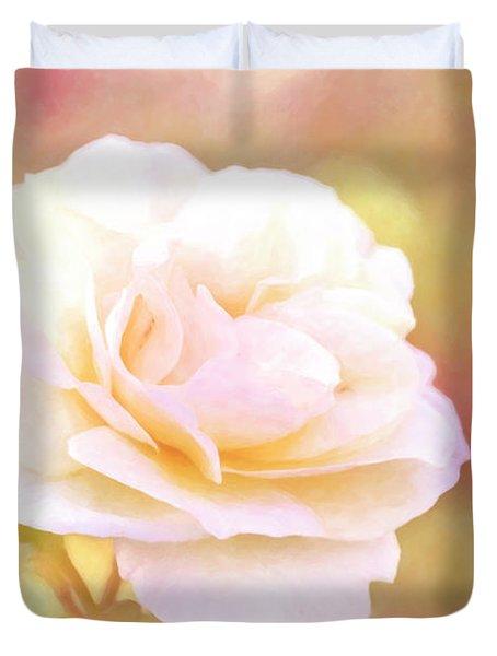 Solstice Rose Duvet Cover