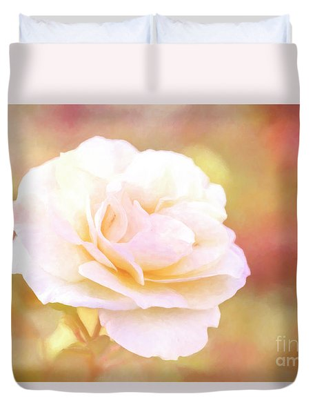 Solstice Rose Duvet Cover