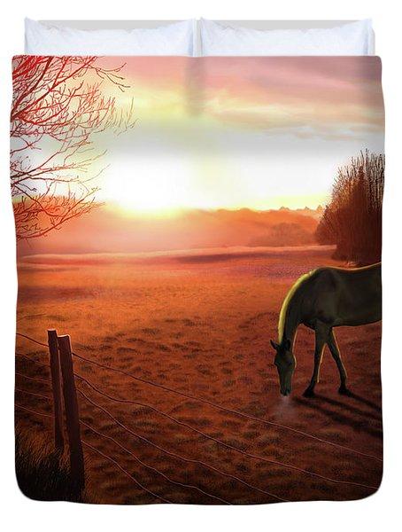 Solstice Sunrise Duvet Cover