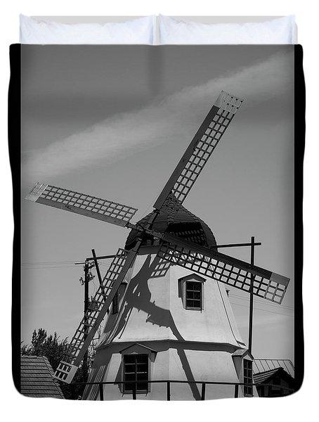 Solvang Windmill Duvet Cover