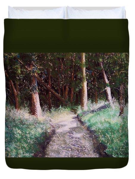 Solveigs Journey Duvet Cover by Marika Evanson