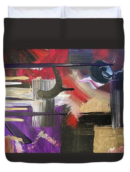 Solvent Cosmo Duvet Cover