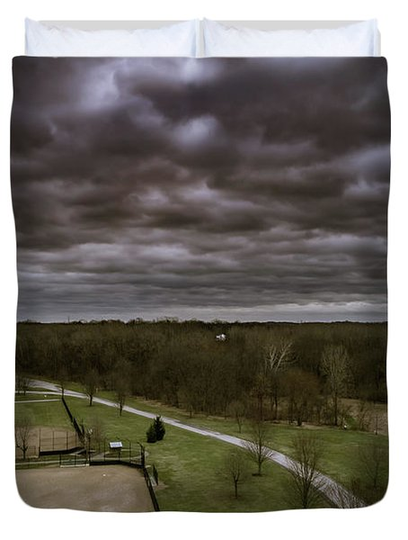 Somber Day Duvet Cover
