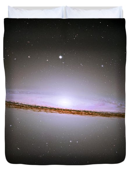 Sombrero Galaxy Duvet Cover