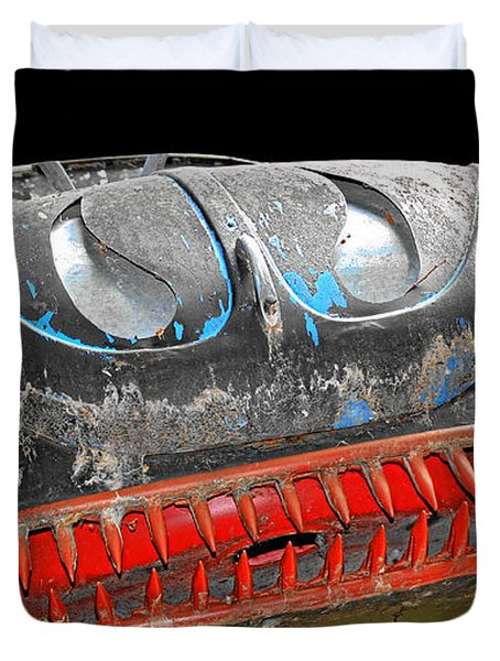 Some Cars Are Born Bad Duvet Cover by Christine Till