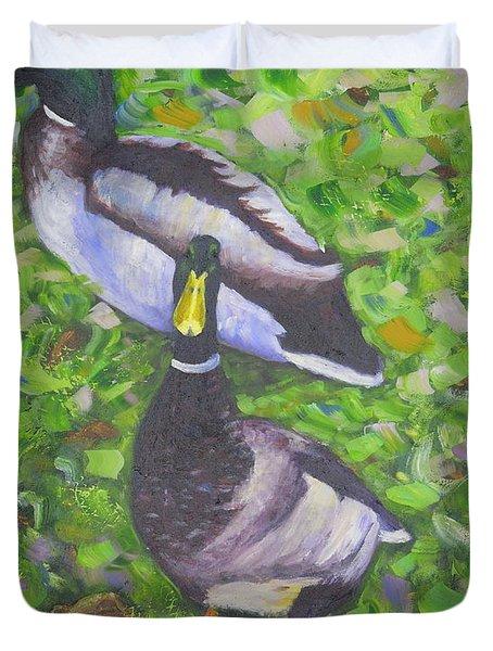 Somerset Ducks Duvet Cover