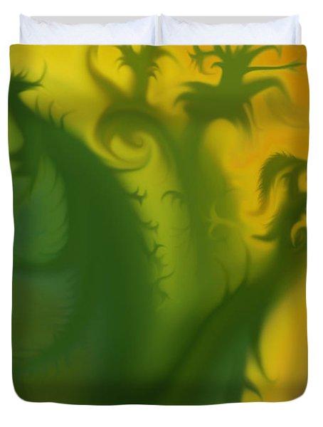 Something Green Duvet Cover