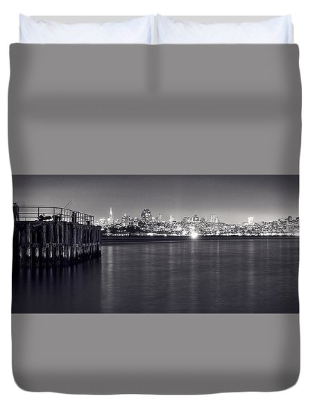 Something I Dreamed Last Night Duvet Cover