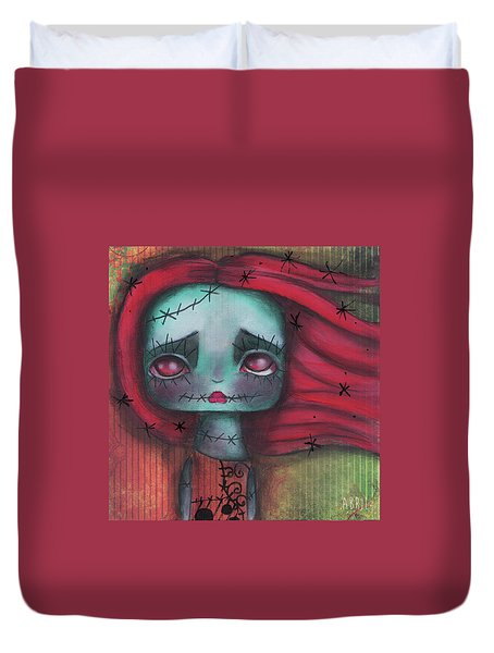Something In The Wind Duvet Cover by Abril Andrade Griffith