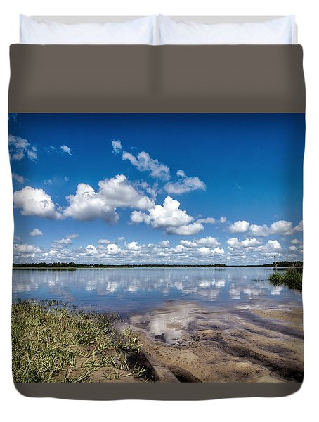 Something To Reflect On II Duvet Cover