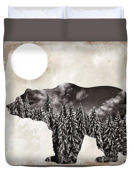 Something Wild Bear Duvet Cover