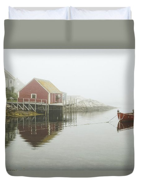 Sometimes We Need To Say Goodbye  Duvet Cover