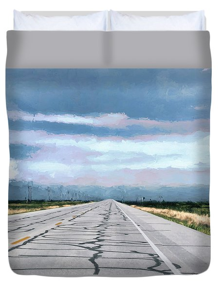 Somewhere Along The Way Duvet Cover