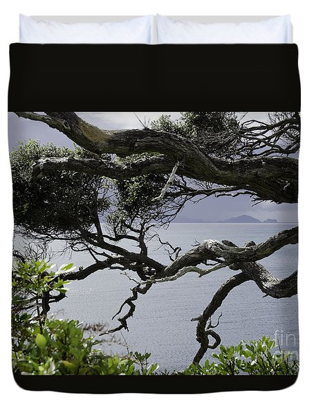 Somewhere Around Whangarei, New Zealand Duvet Cover